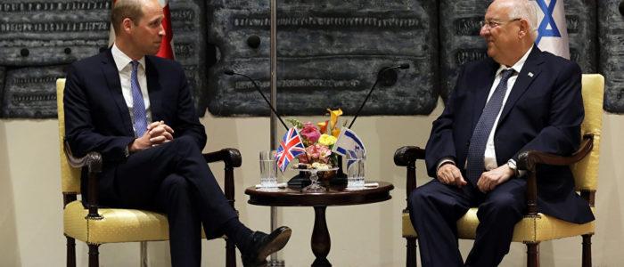 زيارة الأمير وليام سياسية بحته تخدم نتنياهو لكسر عزلة إسرائيل