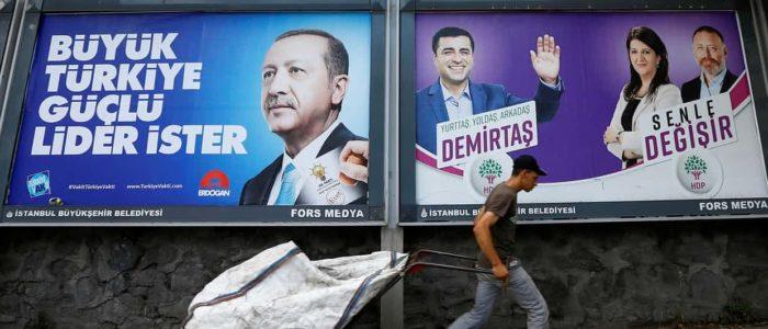 """""""ديميرتاش"""" مرشح الرئاسة التركية السجين: أنا ضد أردوغان"""