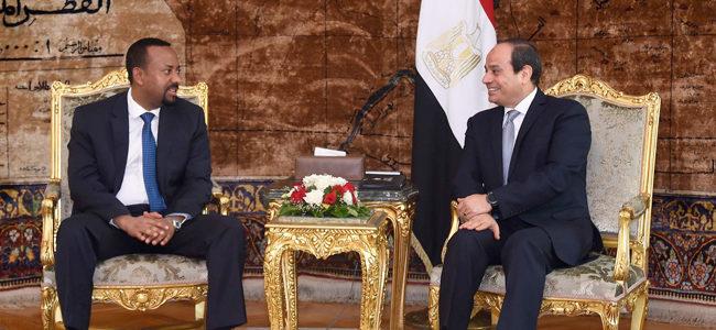 تفاصيل لقاء الرئيس السيسي مع آبي أحمد