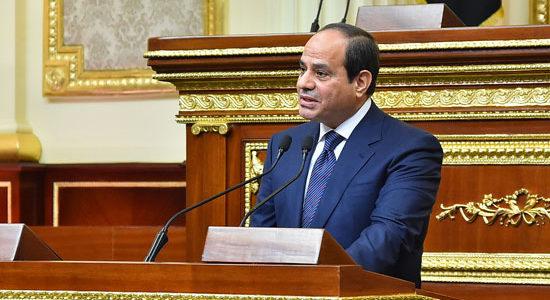 """فى ذكرى 30 يونيو.. السيسى: """"فى مثل هذا اليوم تحدى المصريون التحدى ذاته"""""""