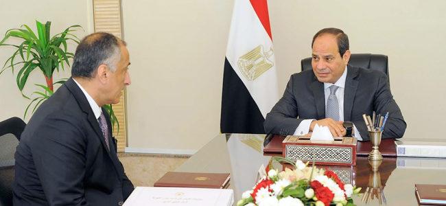 الرئيس السيسى يجتمع بمحافظ البنك المركزي لاستعراض أداء الاقتصاد والسياسات النقدية