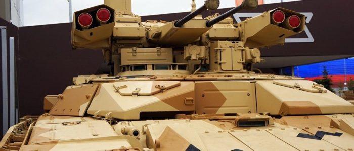 """روسيا تطور المدمرة """"BMPT-72 Terminator"""" لمواجهة الأسلحة الأمريكية الفتاكة"""