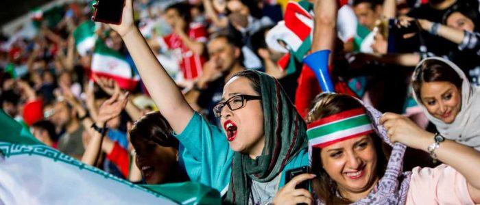 المشجعات الإيرانيات قاومنا التحرش والمضايقات في المباراة ضد إسبانيا