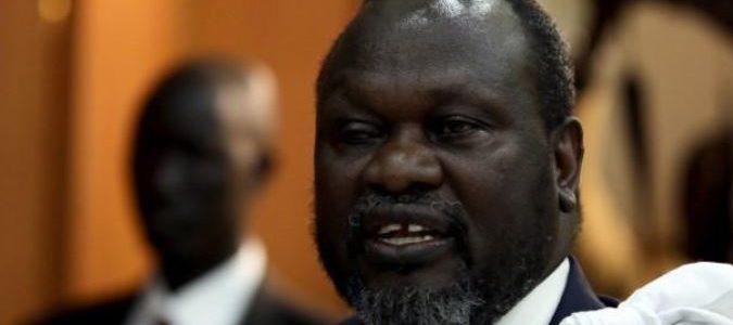 زعيم متمردي جنوب السودان مشار في إثيوبيا لمحاولة إنهاء الحرب الأهلية