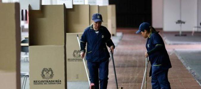 كولومبيا تصوت في جولة الإعادة للانتخابات الرئاسية