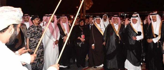 افتتاح فعاليات سوق عكاظ ومصر ضيف الشرف