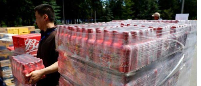 انخفاض مخزون الجعة في موسكو مع امتلاء الحانات والمطاعم بالمشجعين