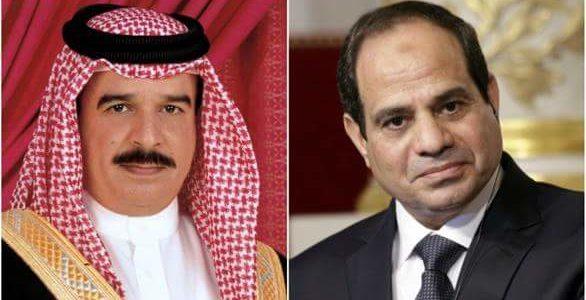 السيسي وعاهل البحرين يبحثان مستجدات الأوضاع في الشرق الأوسط خلال اتصال هاتفي