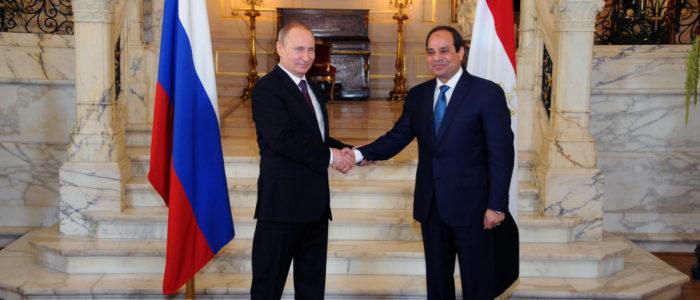 ارتفاع نسبة التبادل التجاري بين مصر وروسيا بنسبة 37% خلال النصف الأول لعام 2018
