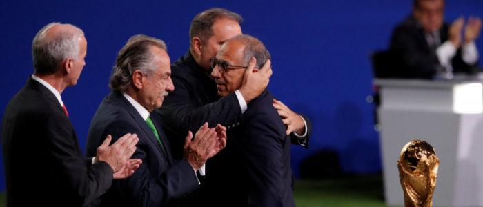 استضافة المونديال تضيع من المغرب مرة أخرى.. الملف الأميركي يفوز بشرف تنظيم كأس العالم 2026