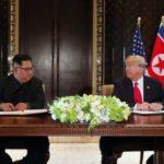 """ترامب: كيم جونج أون قدم """"اعتذاراته"""" بعد إطلاق صواريخ"""