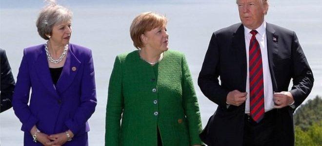 ترامب يكرر الشكوى من ألمانيا ودول أوروبية أخرى قبل قمة حلف الأطلسي
