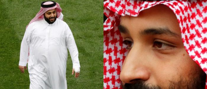 تفاصيل الساعة التي تلت خسارة السعودية أمام روسيا.. هذا ما دار بين محمد بن سلمان وتركي آل الشيخ