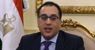 رئيس الوزراء يتققد سير العمل بالمتحف المصرى الكبير