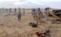 الجيش يقضي علي 32 ارهابيا في سيناء