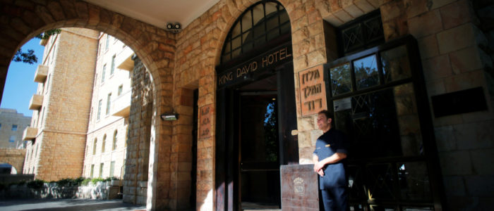 الأمير وليام  يقيم في فندق الملك داود بالقدس