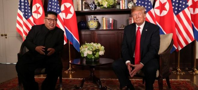 إجراءات أمنية مشددة لحماية ترامب خلال لقاء القمة مع كيم