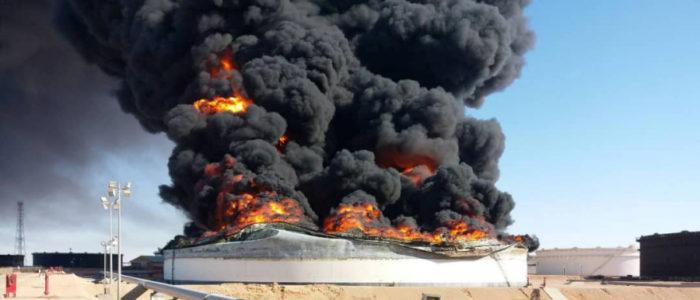 داعش أعلن  مسؤوليته عن هجوم قتل 9 أشخاص في ليبيا