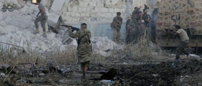 أربعة قتلى من قوات حفتر جراء هجوم انتحاري في درنة