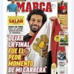 """محمد صلاح لـ""""ماركا"""" الإسبانية: مصر لديها فريق عظيم ومدرب رائع"""