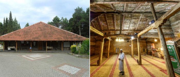 مسجد خشبي بُني دون استخدام أي مسمار أو غراء، وظلَّ صامداً 8 قرون