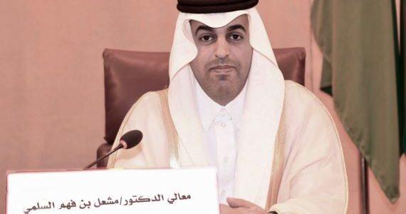 رئيس البرلمان العربي يثمّن مشروع نزع الألغام في اليمن
