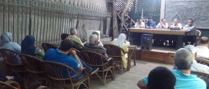مناقشة قلب مهزوم بأتيليه القاهرة