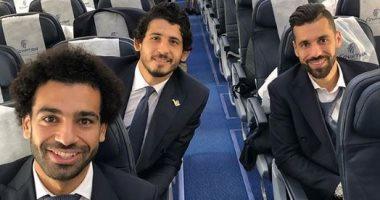 وصول المنتخب المصري إلى روسيا للمشاركة في المونديال