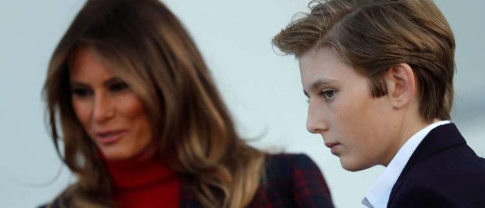 ميلانيا ترامب تستنجد بالخدمة السرية بعد تهديدها بابنها