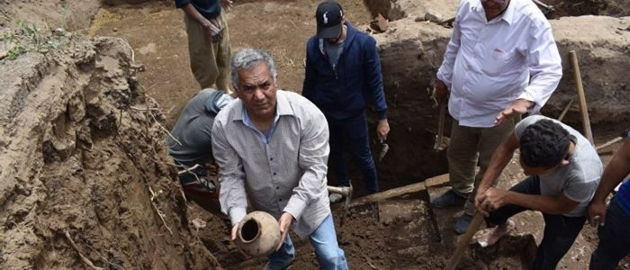 العثور علي أقدم ورشة لصناعة الفخار في الدولة القديمة بمصر