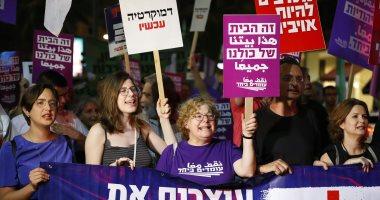 """إسرائيليون يتظاهرون ضد مشروع قانون """"الدولة اليهودية"""""""