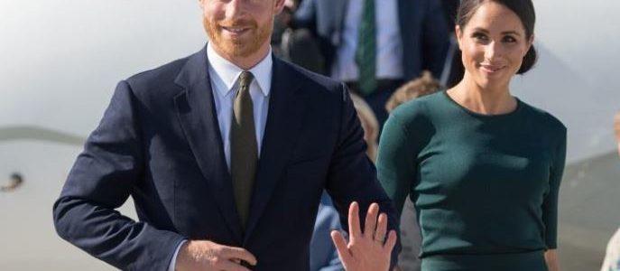 هاري وميجان يصلان إلى دبلن في أول زيارة للخارج منذ زواجهما