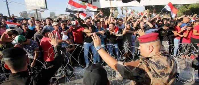 استمرار المظاهرات بالعراق وارتفاع سقف المطالب