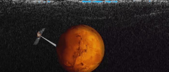 العثور علي مخزون ضخم من المياه تحت سطح المريخ