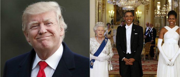 ترامب لم يحظي بإمتيازات أوباما أثناء زيارته لبريطانيا