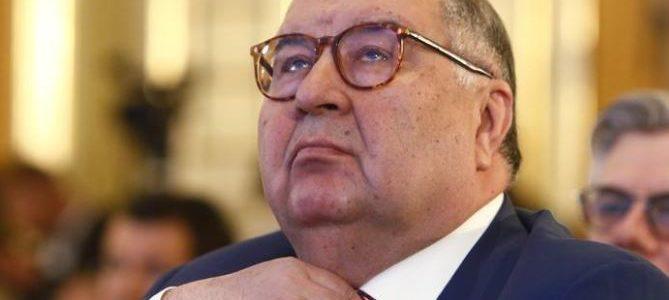 الملياردير الروسي يبحث بيع 30% من اسهم أرسنال