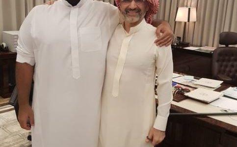 """أول ظهور للوليد بن طلال مع محمد بن سلمان بعد إطلاق سراحه من """"الريتز كارلتون"""""""