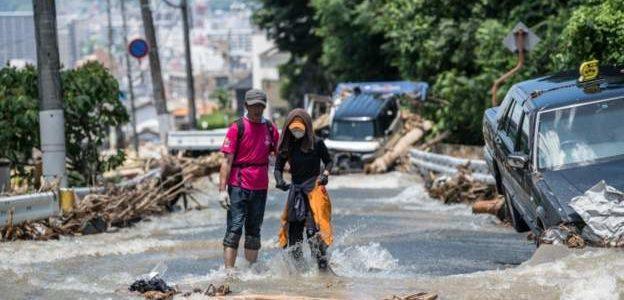 فيضانات اليابان: 200 قتيل، وعشرات المفقودين، عشرات الآلاف من المنازل بلا مياه