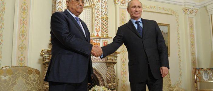 بوتين لنظيره الفلسطيني: الوضع الإقليمي معقد وسأقوم باتصالات مع زعماء دول الشرق الأوسط