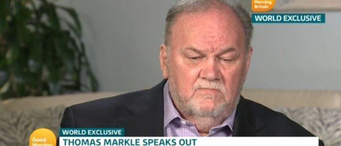"""والد ميجان ماركل يدعي""""ابنته مرعوبة""""والعائلة المالكة """"عفا عليها الزمن """"ويتوسل """"لابنته وهاري للتواصل معه قبل موته"""""""