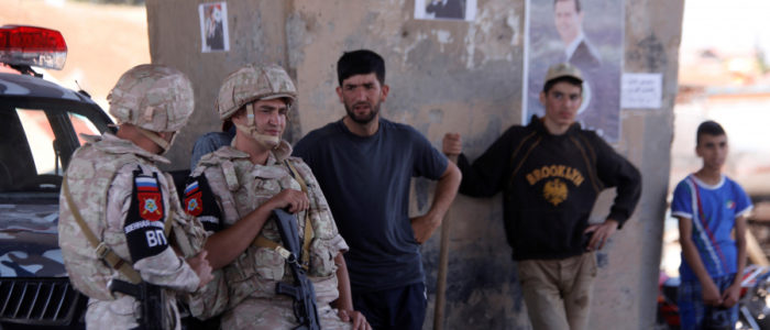 جنود النظام السوري مستاؤون بسبب إهانتهم المستمرة من القوات الأجنبية