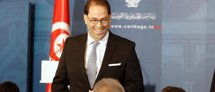 رئيس الحكومة التونسية يتقدم باستقالته خلال أيام