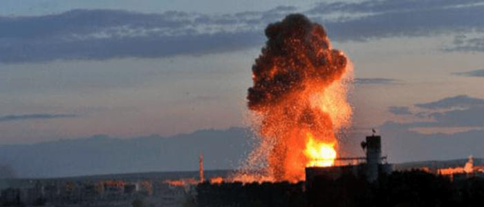 غارات إسرائيلية علي مواقع عسكرية وسط سوريا