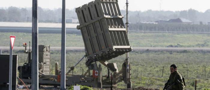 نشر القبة الحديدية الإسرائيلية في سوريا