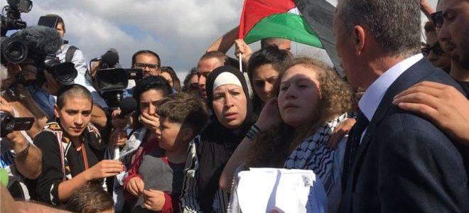 عهد التميمي: أتمنى نجاح جهود مصر لإنجاز المصالحة الفلسطينية