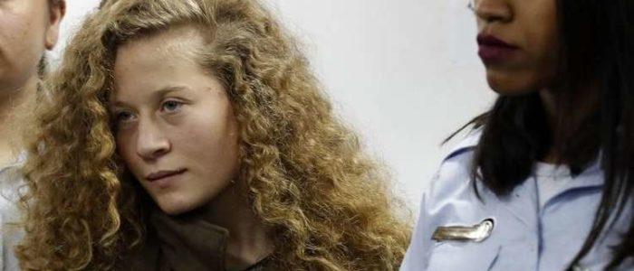 غداً اطلاق سراح عهد التميمي من السجون الإسرائيلية