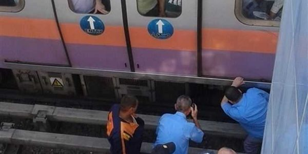 """انتحار شاب أسفل عجلات مترو الأنفاق بمحطة """"عرابي"""""""