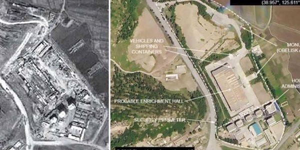 """الأقمار الصناعية تكشف موقع """"كانجسون"""" لتخصيب اليورانيوم في كوريا الشمالية"""