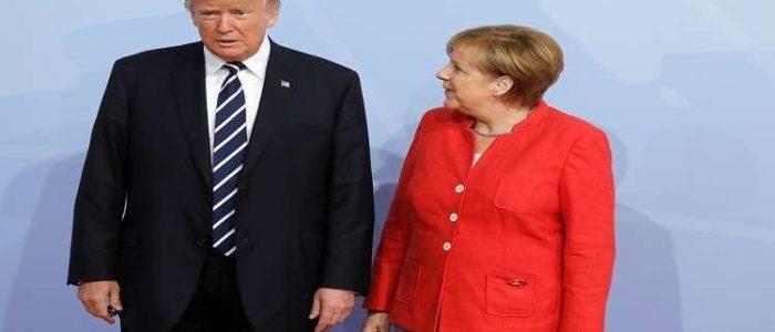 ميركل ترد على انتقاد ترامب للعلاقة بين موسكو وبرلين
