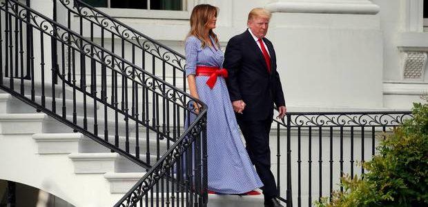 بماذا تفاجيء ترامب عندما دخل غرفة زوجته ميلانيا؟